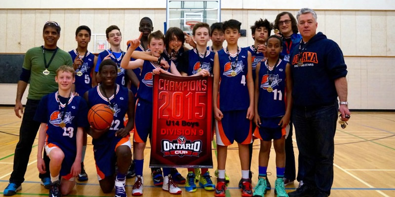 Ottawa Shooting Stars Bantam Boys Win OBA